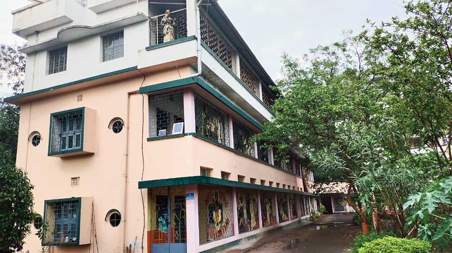 Chetana Human Resource Development Centre in Burdwan, where St Xavier's will set up a Covid care facility
