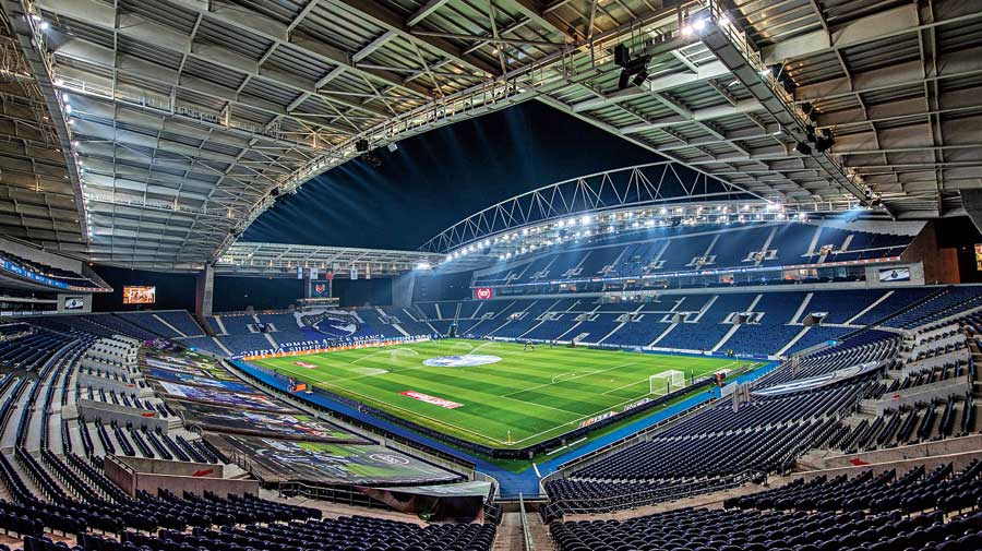 Porto's Estadio do Dragao (Dragon Stadium) will host the Champions League final between Manchester City and Chelsea on May 29.
