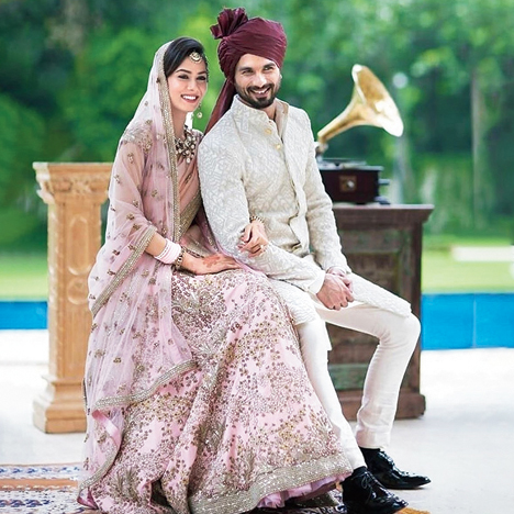 """""""Shahid's (Kapoor) wedding outfit was a complete departure from what grooms wore at that time. That also triggered this cleaner, non-maximalist aesthetic,"""" says Kunal."""