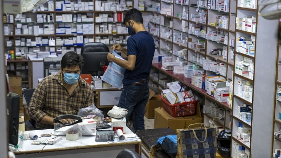 Amphotericin B, an antifungal medicine which plays a critical role in treatment of black fungus, was not available at pharmacies in Ranchi on Tuesday.