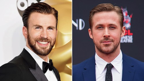 Starring Chris Evans (left) and Ryan Gosling, The Gray Man is being made on a budget of $200 million, Netflix's biggest so far