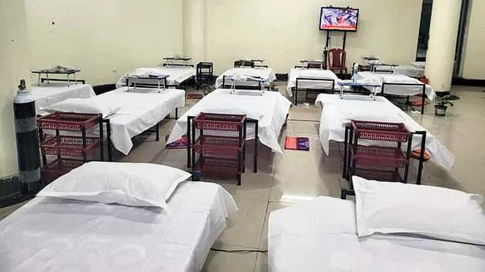 The new healthcare infrastructure here will have a total of 50 beds, 25 each for male and female patients.