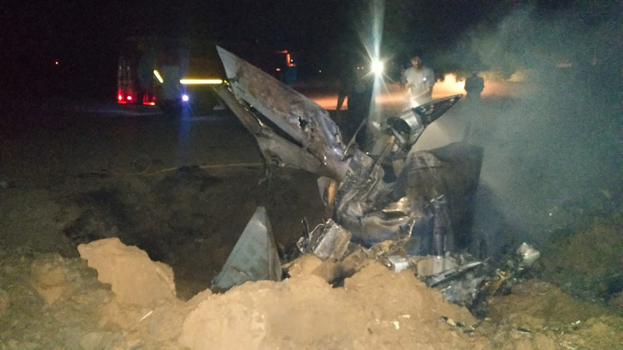 A Court of Inquiry has been ordered to ascertain the cause of the accident which took place late Thursday night.