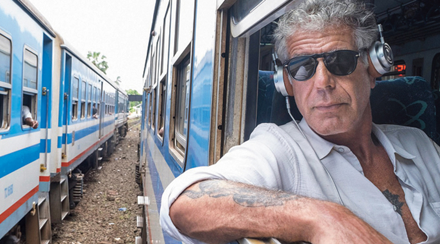 Anthony Bourdain in Parts Unknown.