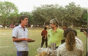 'Calcutta and Bombay are the two cities that remind me most about my hometown, New York City with the dense interweaving of classes and cultures,' Anthony Bourdain said during an episode of No Reservations while visiting Calcutta and meeting musician and food critic Nondon Bagchi.