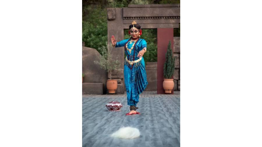 HOME MOVE: Rachana Kar strikes a pose