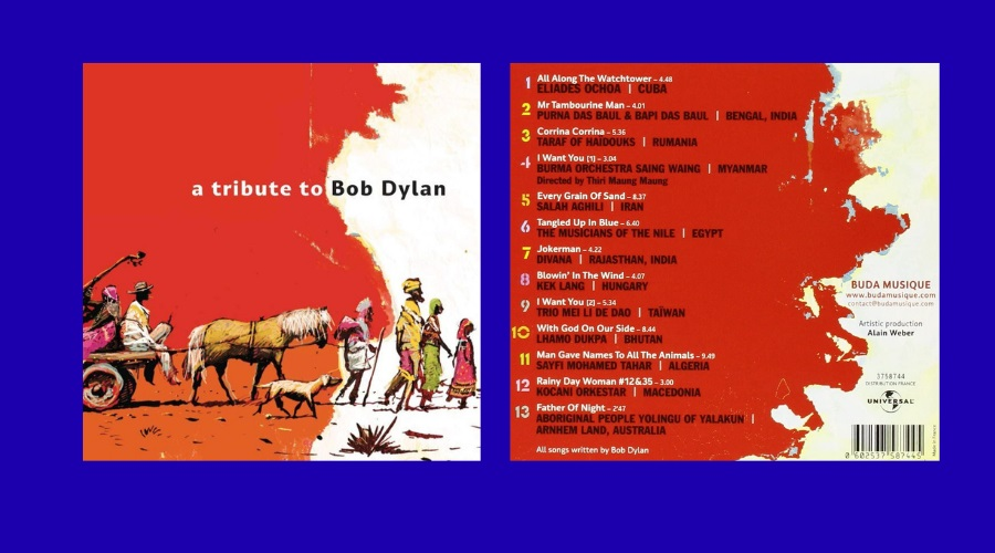 The album, illustration by Benjamin Flao, design by Jack Garnier