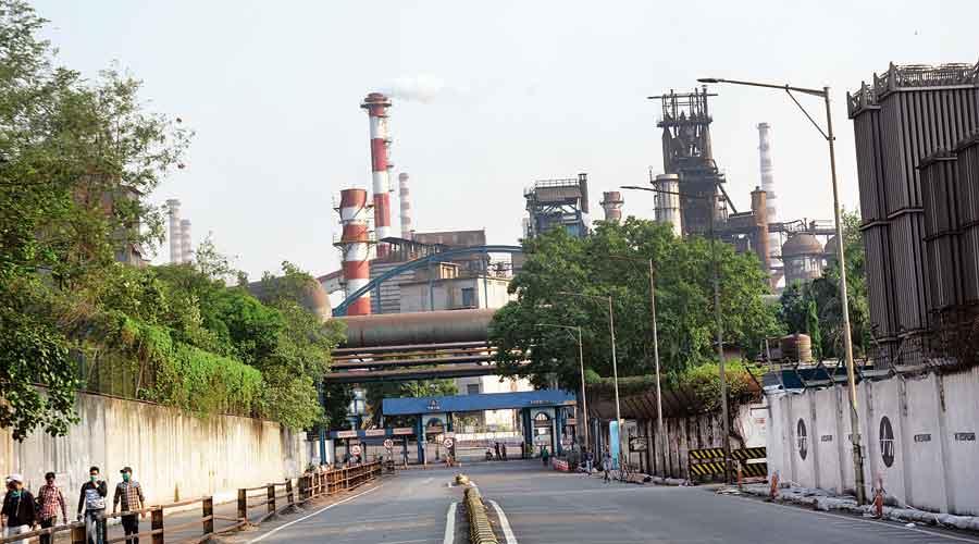 Tata Steel en Jamshedpur.