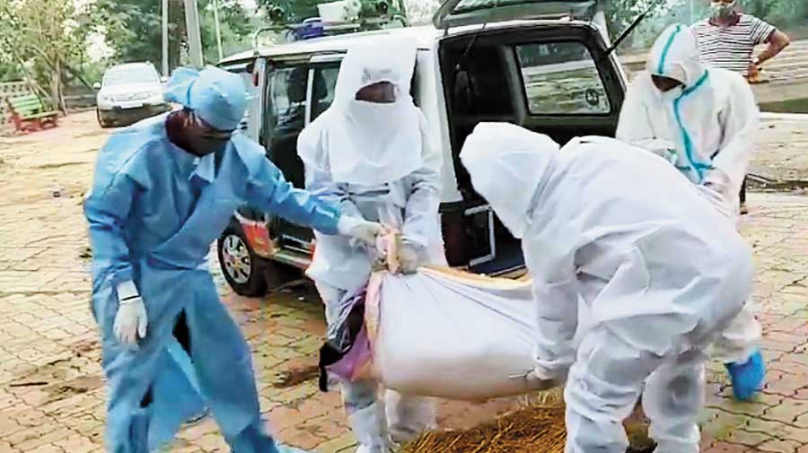The state recorded 67 more deaths due to the pandemic in the last 24 hours taking the total death toll in the state to 5,308.