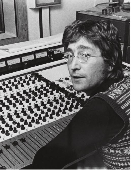 John at the bespoke console built by Eddie Veale and David Dearden; Ascot Sound Studios, August 3, 1971.
