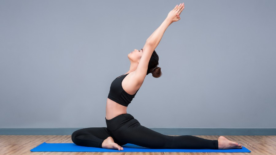 Make sure you find time to practise yoga, pranayama and some functional body-weight training at home