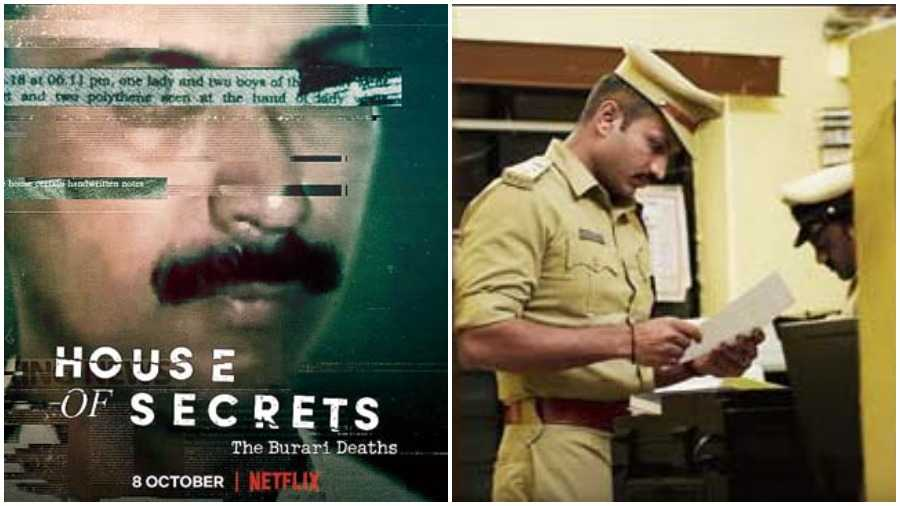 (L-R) House of Secrets: The Burari Deaths streams on Netflix tomorrow;  A still from the recently-released Netflix documentary has found many takers