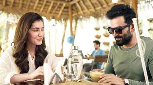 BLIND MAN'S BLUFF: Raashii Khanna with Prithviraj Sukumaran in Bhramam, the Malayalam remake of Andhadhun, now streaming on Amazon Prime Video