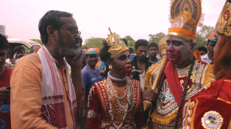 FAILED GOD: A scene from A Bid For Bengal