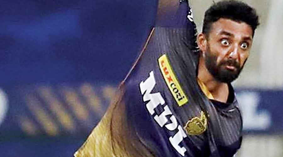 Spinner Varun Chakravarthy has  been the best bowler for KKR in this IPL.