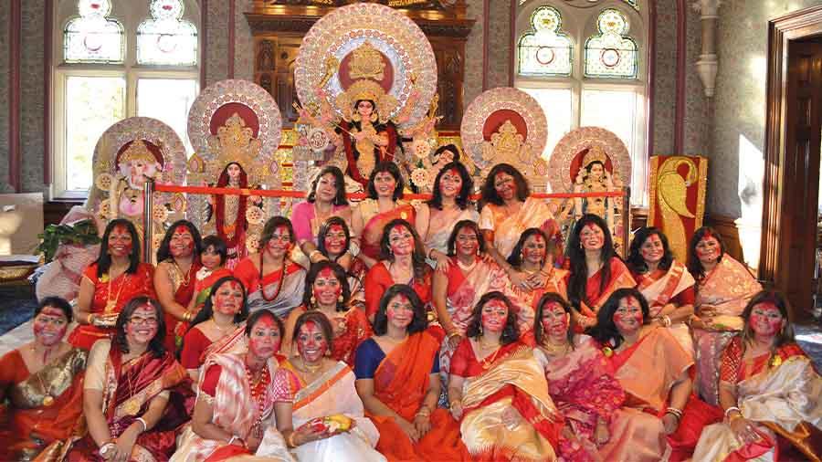 The London Sharad Utsav Durga Puja