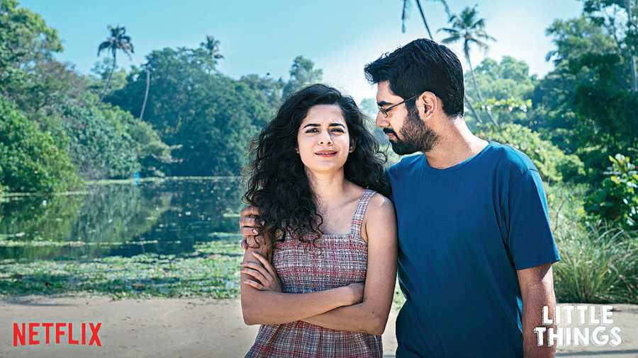 FINAL GOODBYE: Mithila Palkar and Dhruv Sehgal in Season 4 of Little Things, dropping on Netflix this Friday