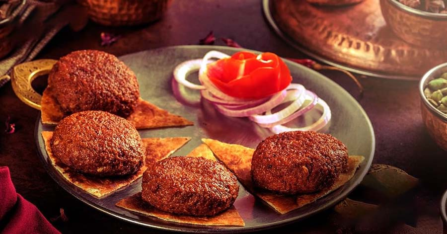 GALOUTI KEBAB FROM OUDH 1590: This melt-in-the-mouth (yes, literally!) mutton kebab is a no-brainer when it comes to a wholesome meal on the go. While Oudh is also known for its biryani, this Awadhi special made from mutton paste marinated with special spices, is a steal. Have it JLT or pair it with lacchha paratha and coriander-mint chutney.