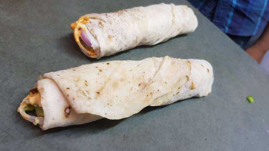 Fat Free Roll from Jai Hind Dhaba