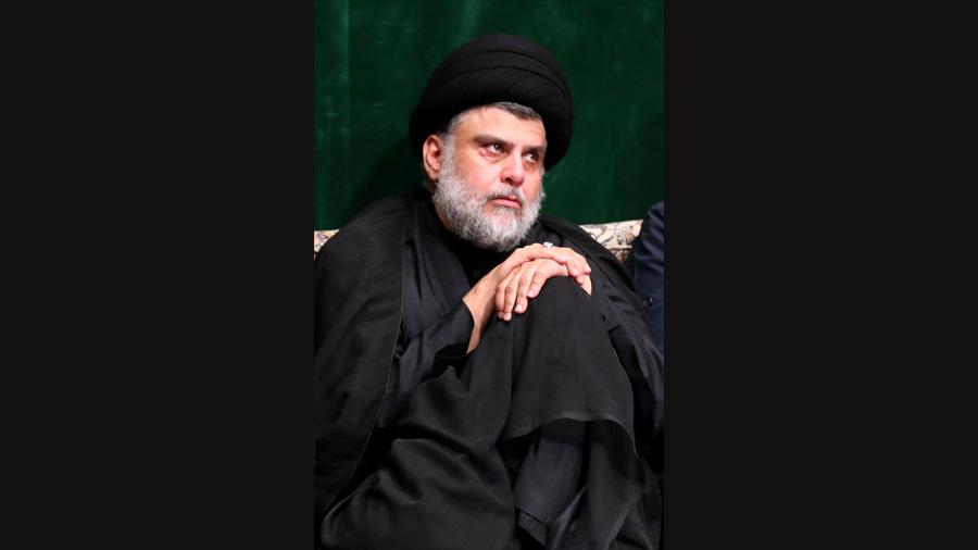 Moqtada al-Sadr.