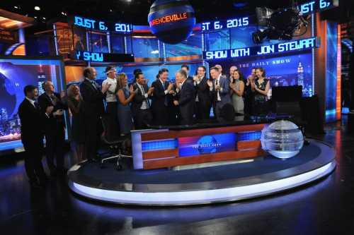 Jon Stewart spent 16 years hosting The Daily Show, leaving in 2015