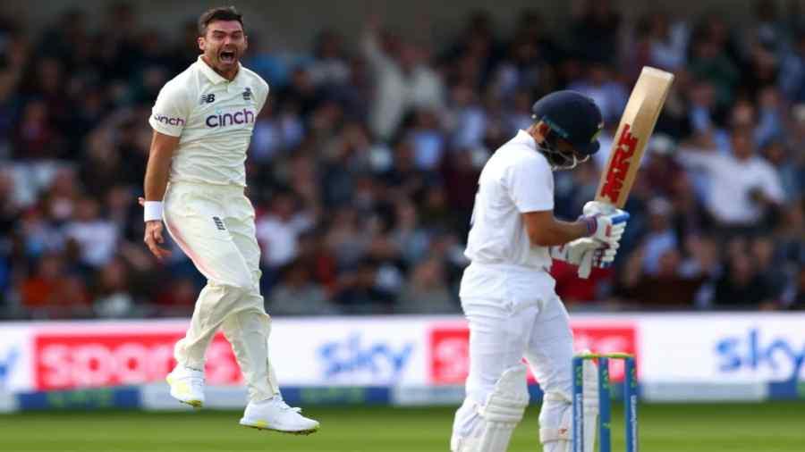James Anderson vs Virat Kohli during India's recent tour to England.