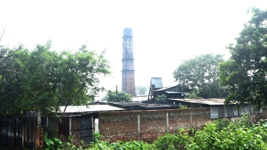 A hard coke factory in Baliapur-Dhanbad road on Thursday.
