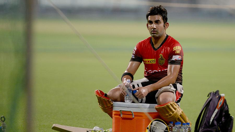 Gautam Gambhir led KKR to two IPL titles