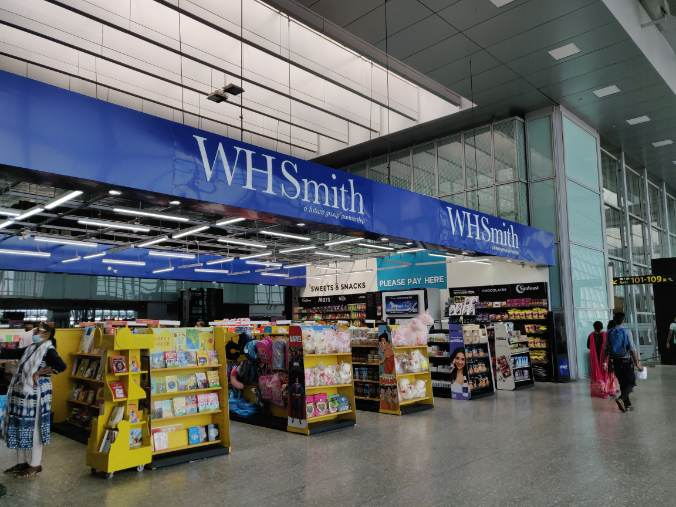 WH SMITH: UK's most popular stationer and bookseller has found a loyal audience at the Kolkata airport. It stands out because of its vast offerings be it books, stationery, stuffed toys, chocolates or skincare.