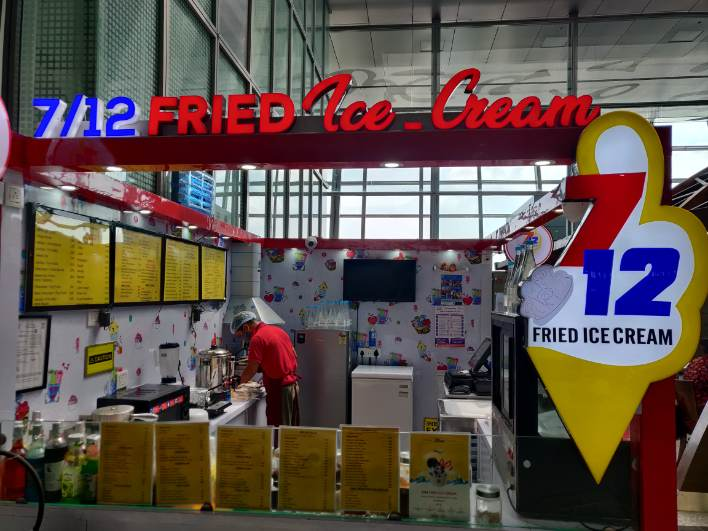 7/12 FRIED ICE CREAM: Um, fried ice cream? Why not? (Especially if you're adventurous enough to travel between Covid waves.) This QSR-model Kolkata franchise brand has several outlets in the city, of which Acropolis Mall is probably the most popular.  Cool down after the struggle of long security queues at this ice cream parlour.