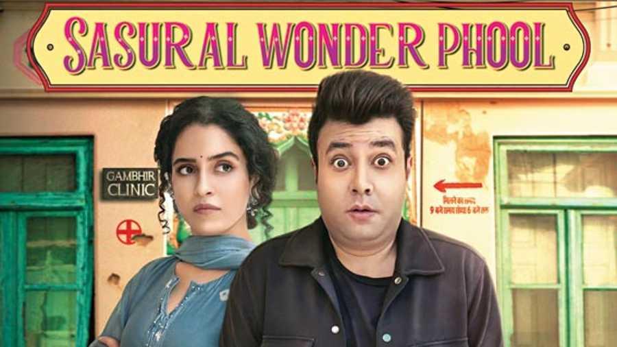 "Sanya Malhotra and Varun Sharma break taboos in ""Sasural Wonder Phool"""