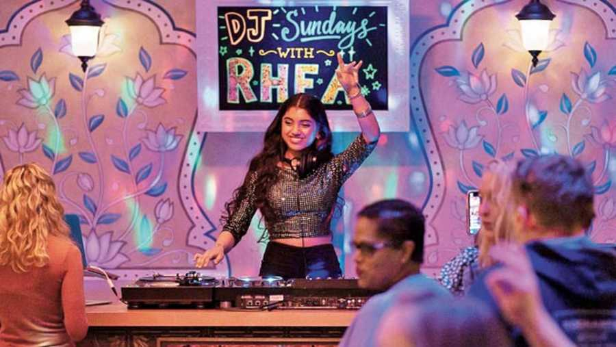Avantika Vandanapu as Rhea in Spin, now streaming on Disney+Hotstar