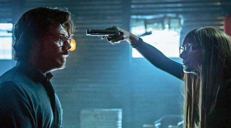 At the end of Season 4, The Professor was held at gunpoint by Sierra, with no escape plan, at least on the surface