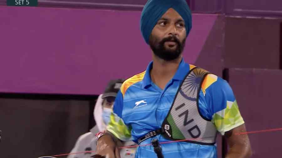 Harvinder Singh wins bronze, India's first ever archery medal at Paralympics  - Telegraph India