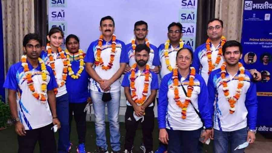 Indian shuttlers claimed four medals, including two gold, a silver and a bronze, at the Paralympics where badminton made its debut this year.