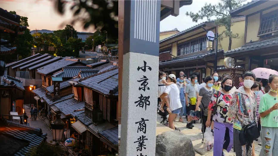 'Tang Little Kyoto' attraction in China shut after twp weeks as Chinese netizens cry 'cultural invasion'.