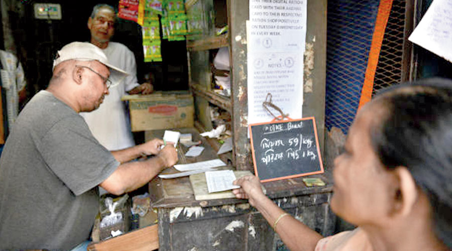 The Duare Ration scheme, a brainchild of Mamata Banerjee, was promised by the chief minister during the Assembly poll campaign this year. She promised the implementation of the scheme if she came to power for a third time in Bengal.