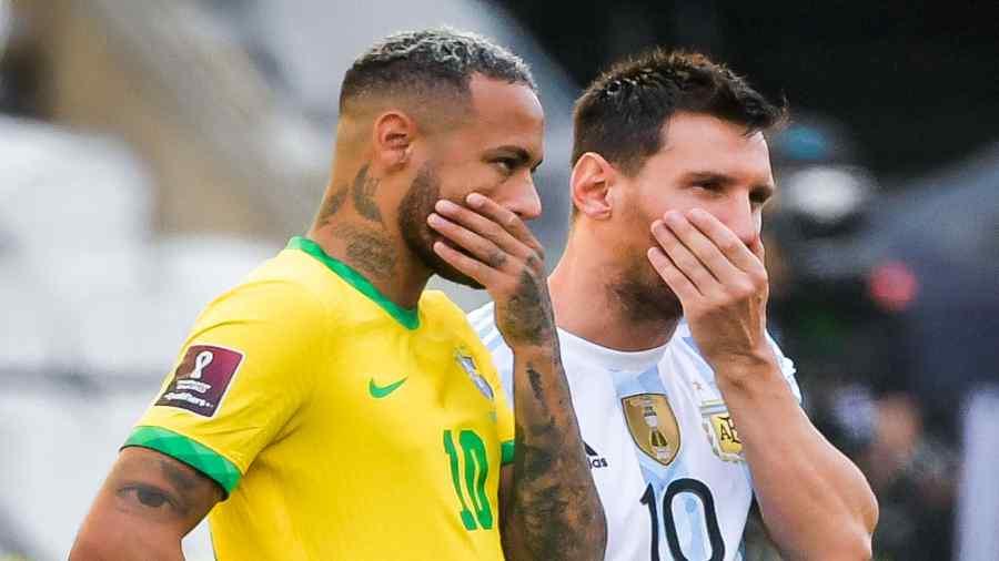 Neymar and Messi.