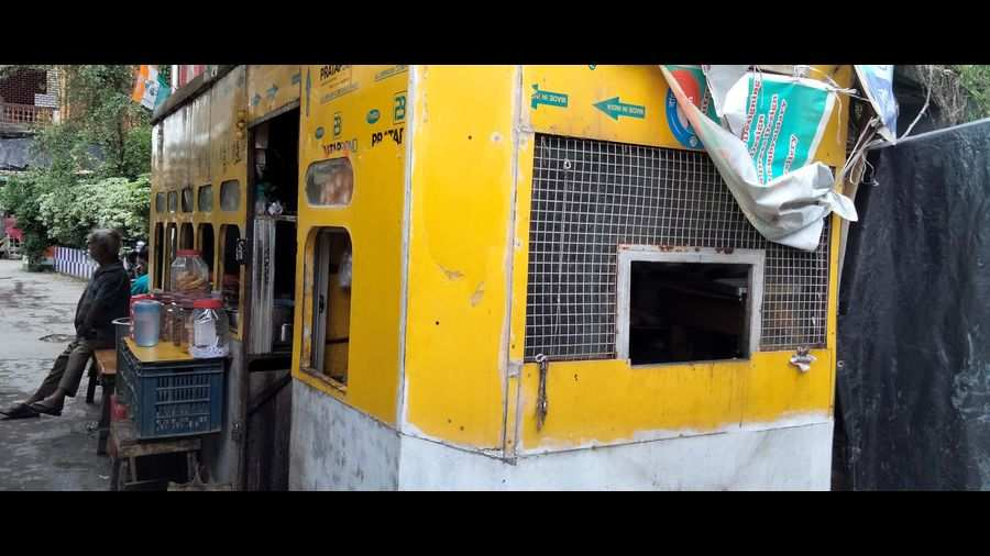 This Tram Tea shop in Kumartuli is a must-visit