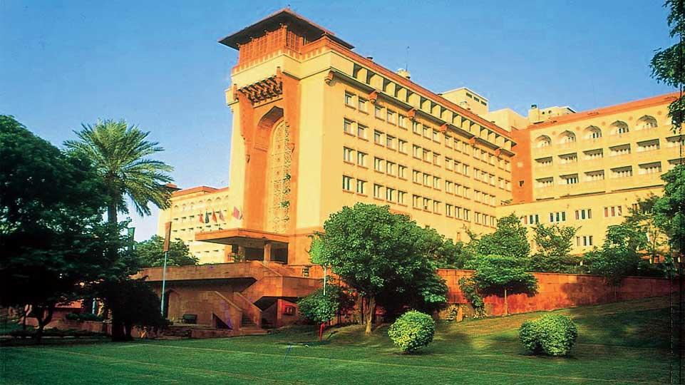 The Ashok hotel.
