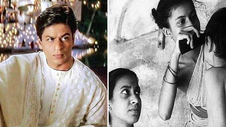 A still from Devdas (left) and Pather Panchali
