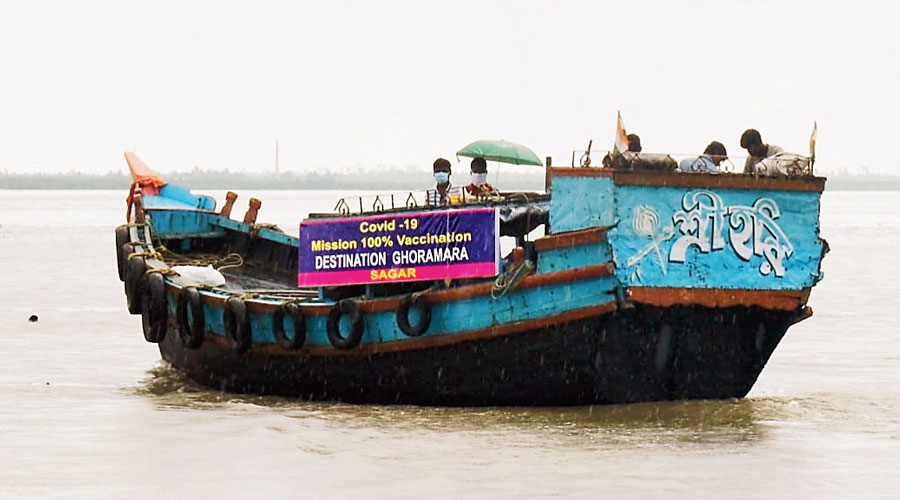 Covid-19: First jab for all on Ghoramara island in Bay of Bengal