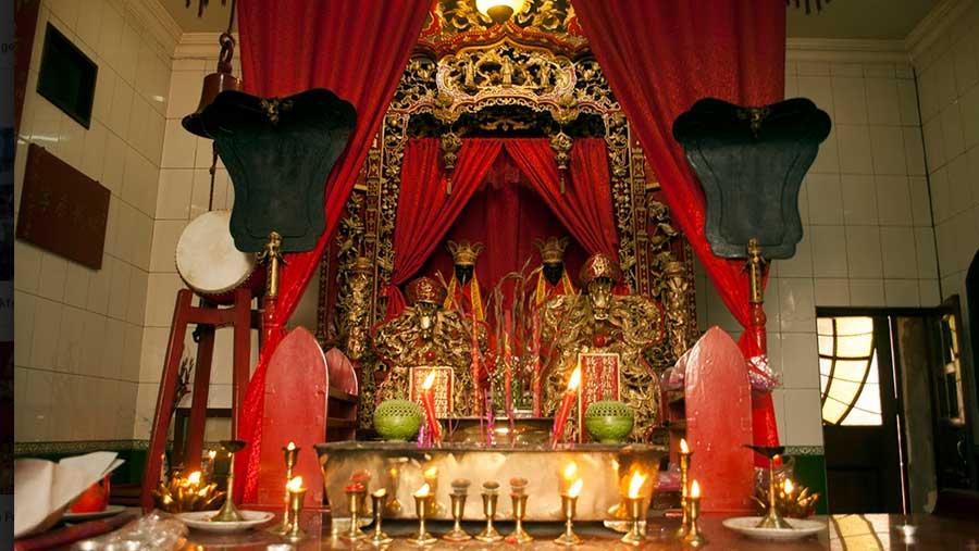 Inside Sea Voi Yune Leong Futh Church