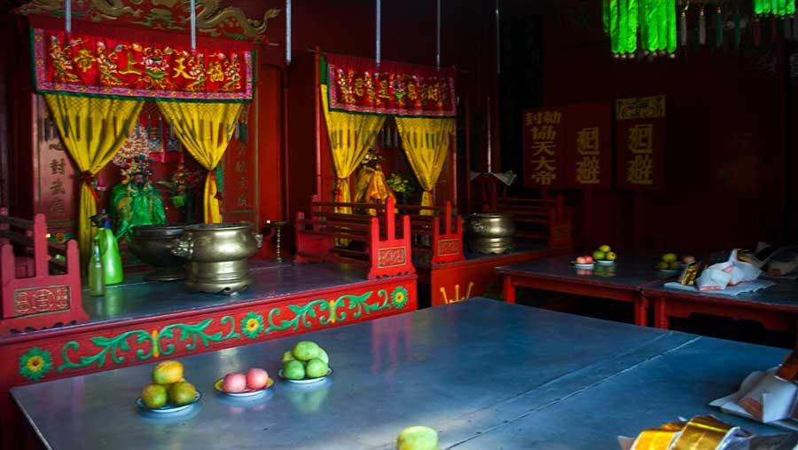 Inside Thien Haue Church