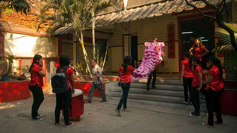 Chinese New Year celebrations in Nam Soon Church