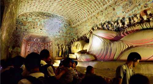 SUTRADHAR: Snapshots from Aron's album — the Buddha in Dunhuang, China