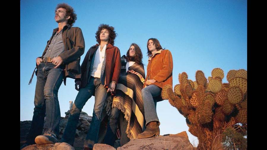 The Eagles photographed in 1972.