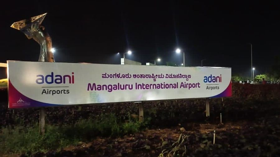 The Adani group had changed the name, adding 'Adani airports' to the name boards after it took over the handling operations.