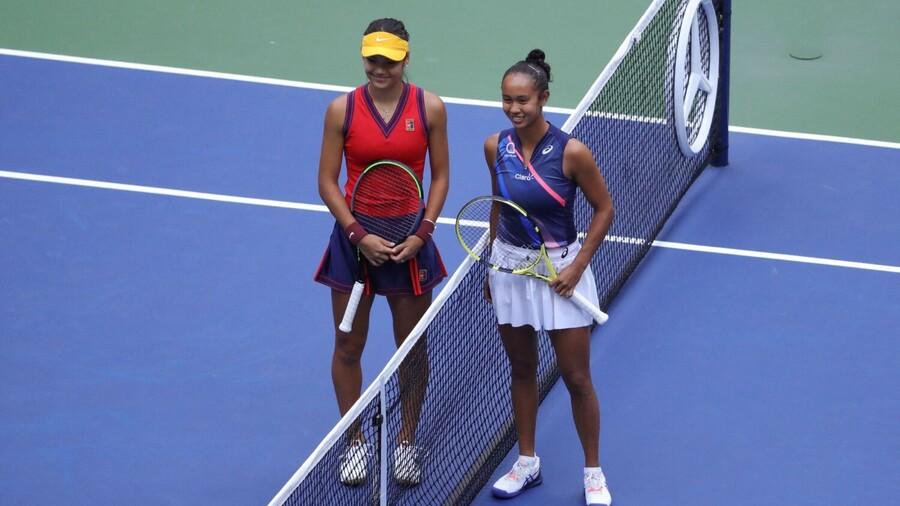 The US Open Women's Singles final saw 18-year-old Brit Emma Raducanu beat 19-year-old Canadian Leylah Fernandez in straight sets.