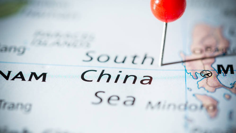 The South China Sea has overlapping territorial claims by a number of countries in East and Southeast Asia.